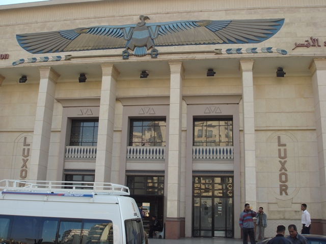luxor-train-station, Blue Sky and Wine Travel Blog