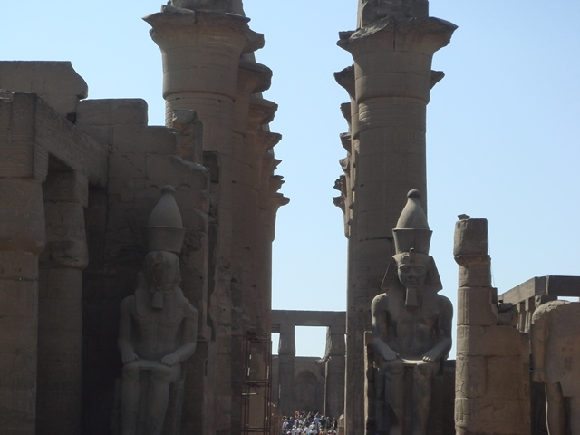luxor-temple, Blue Sky and Wine Travel Blog