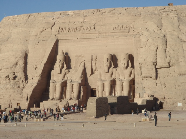 abu-simbel egypt, Blue Sky and Wine Travel Blog