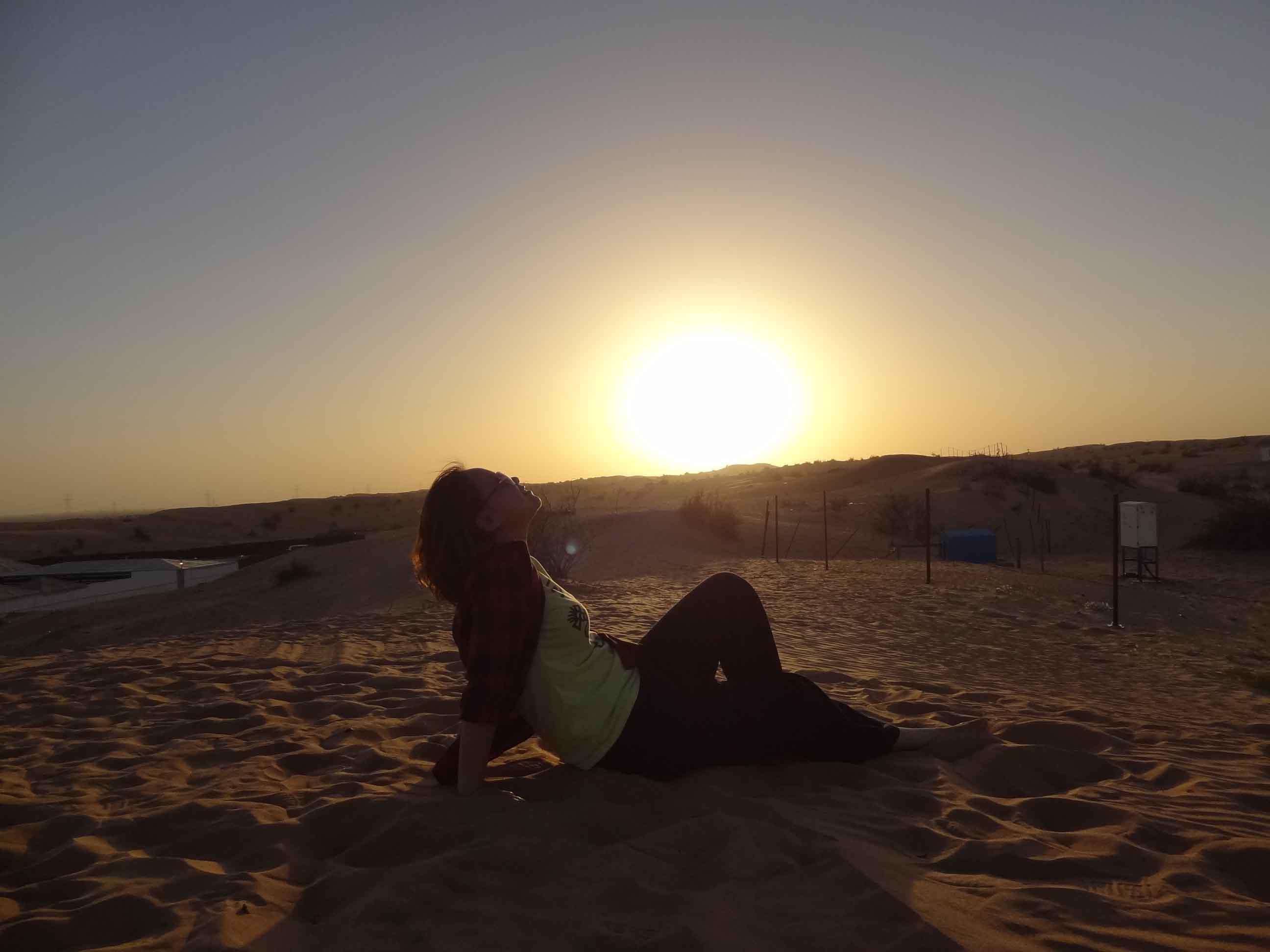 一个人,一双拖鞋,一根自拍杆,迪拜闪游2日