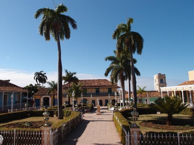 Trinidad, Cuba, Blue Sky and Wine