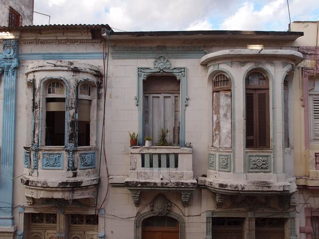 Havana street view, Cuba, Blue Sky and Wine