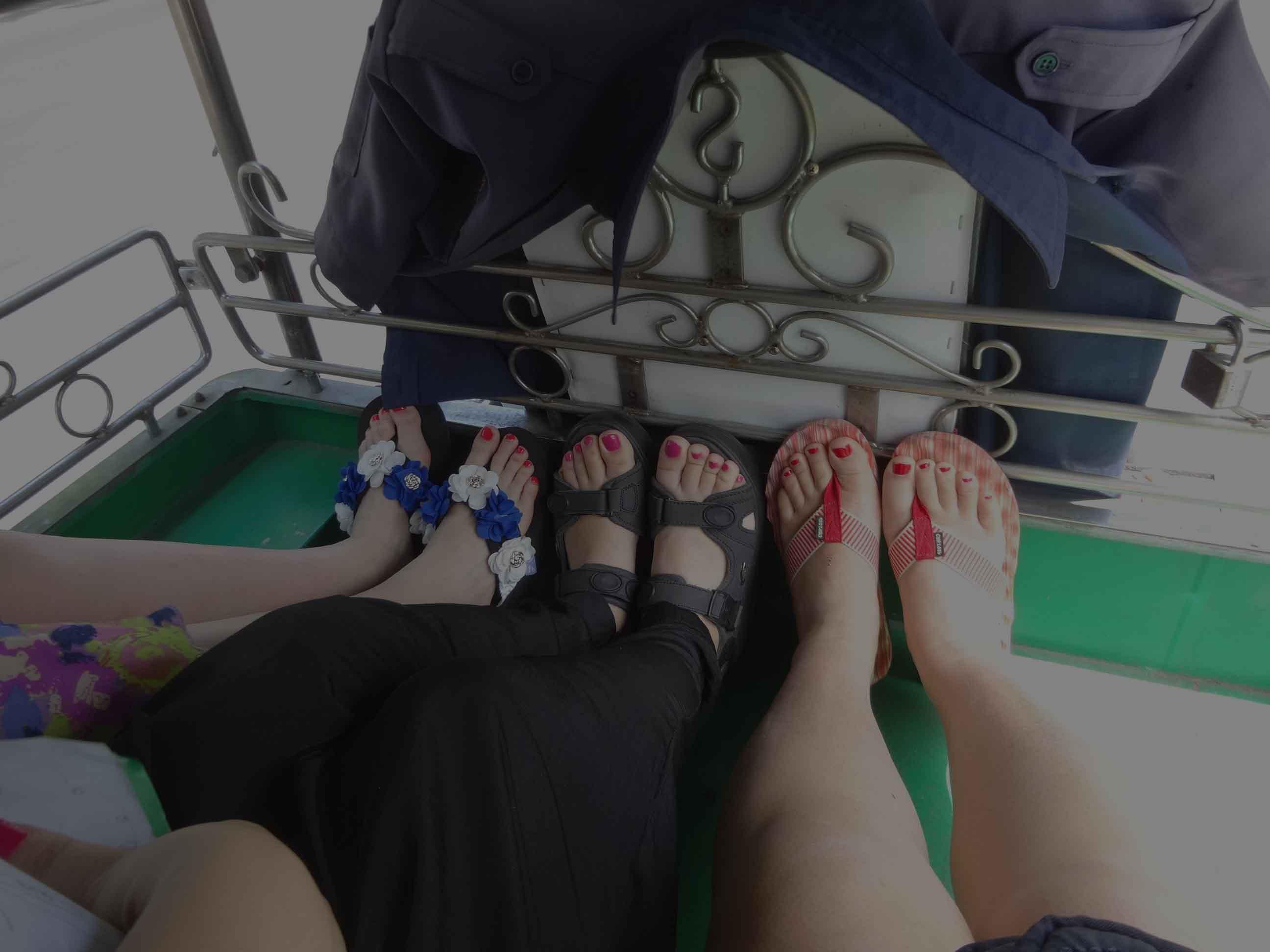 旅行回忆篇:六只脚丫,周马观花曼谷(就2天)汗!