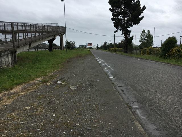 Motorway in Puerto Varas, Chile