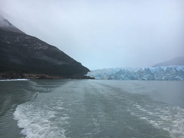 Blue Sky and Wine, Perito Moreno Glacier, El Calafate, Argentina