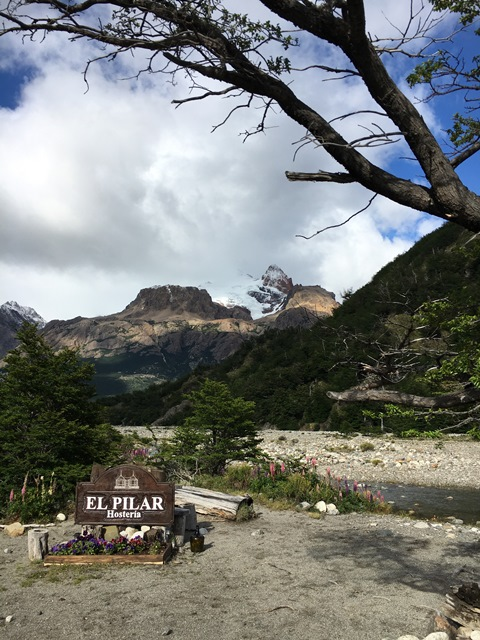 Blue Sky and Wine, El Pilar, Los Glaciers national park, El Chaltén, Argentina