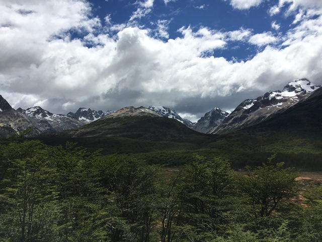 Blue Sky and Wine, Tierra del Fuego, Ushuaia, Argentina