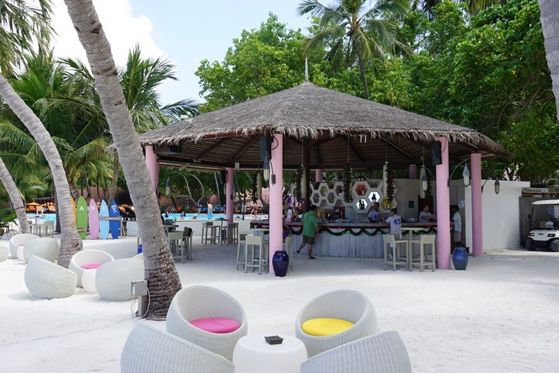 Day Visit to Club Med Kani, Maldives, Blue Sky and Wine