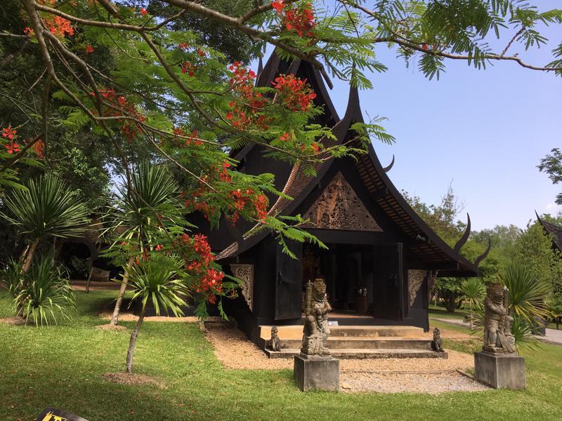 泰国清迈黑庙