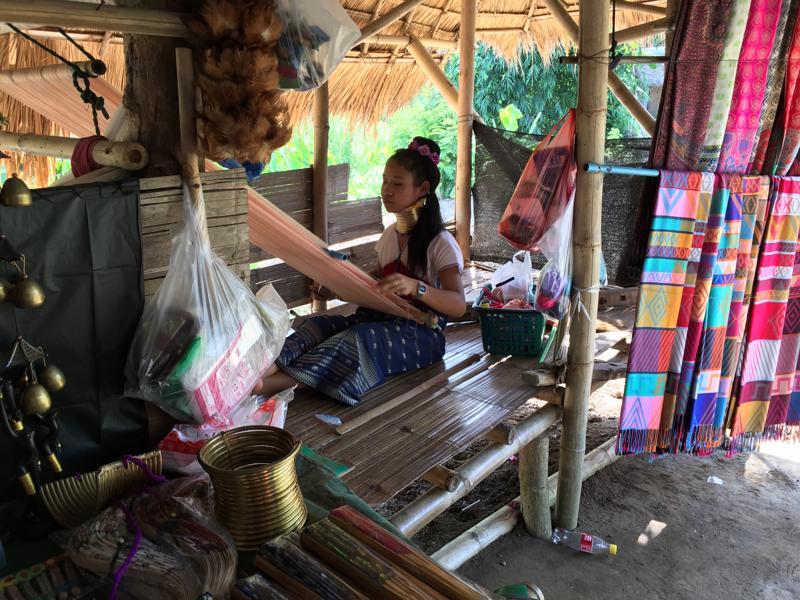 泰国清迈长颈族