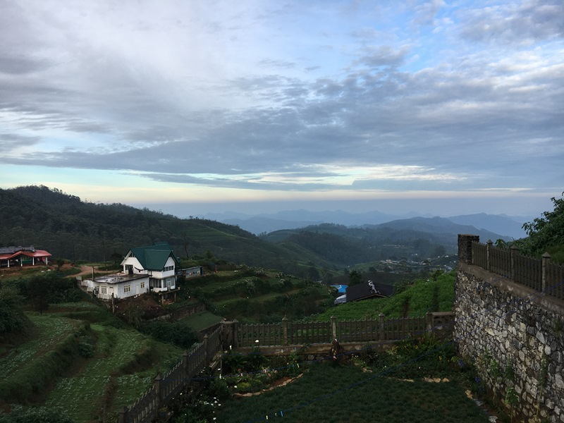 Cottage San Francesco Nuwara Eliya, Sri Lanka, Blue Sky and Wine