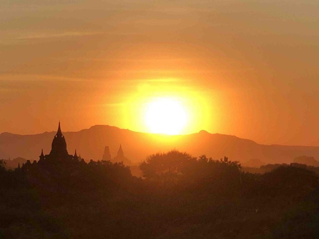 Bagan Sunset Myanmar