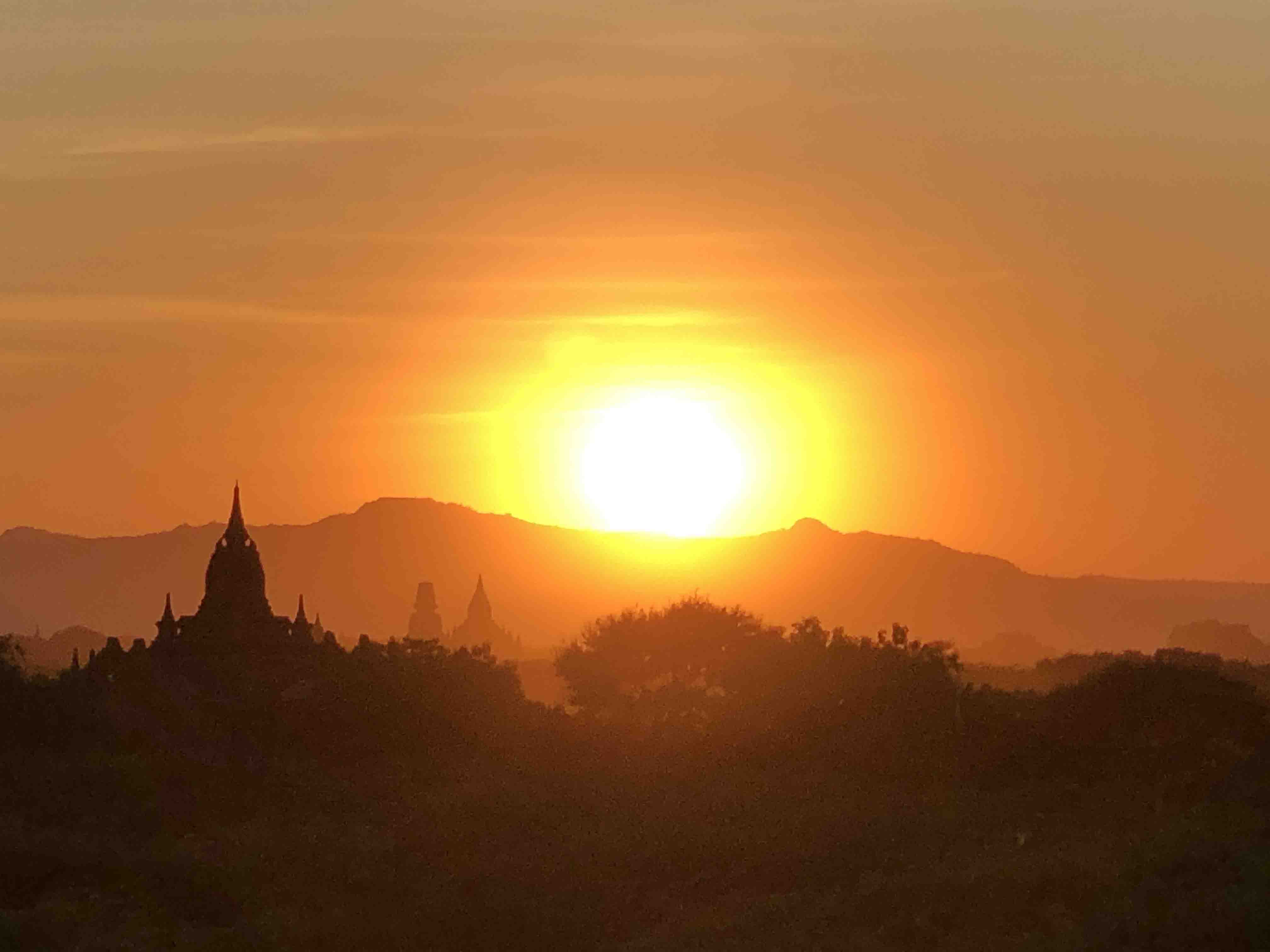 The Golden Burmese Sun:  Arriving the muddy Mandalay