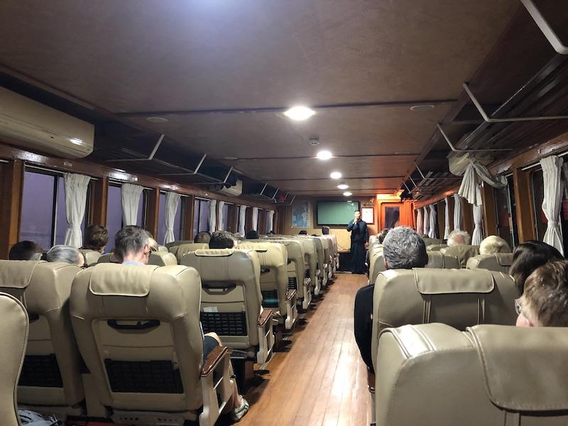 Blue Sky ad Wine, Boat trip from Mandalay to Bagan, RV Panorama ship