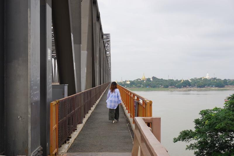 Sagaing Bridge, Mandalay, Myanmar