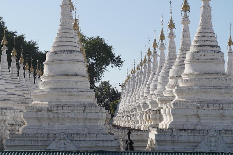 Blue Sky and Wine, Sandamuni & Kuthodaw Pagoda, Myanmar