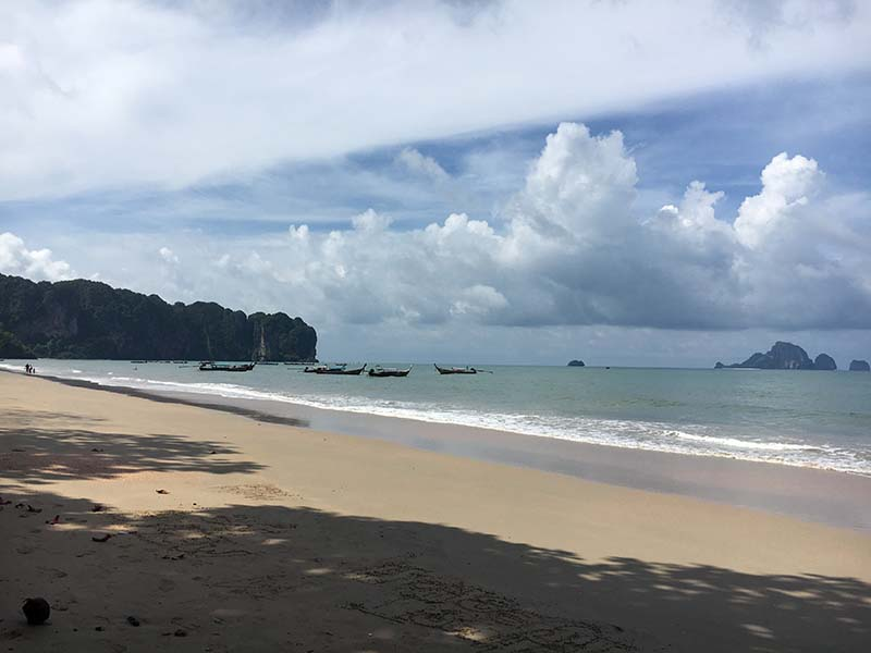 ao nang beach krabi thailand, Blue Sky and Wine