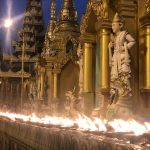Shwedagon Pagoda, Yangon City, Blue Sky and Wine Travel Blog
