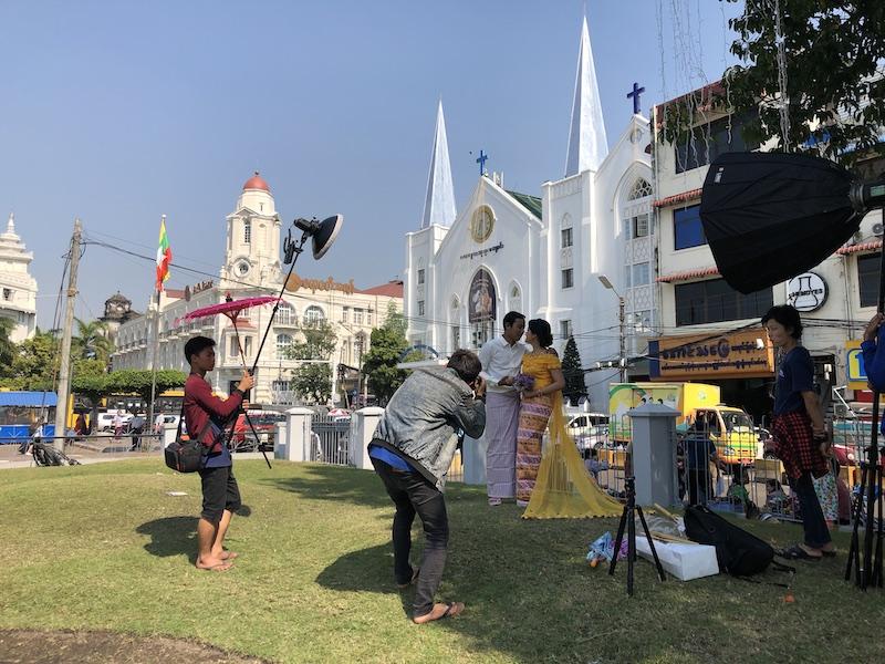 Burmese wedding in Yangon, Blue Sky and Wine Travel blog
