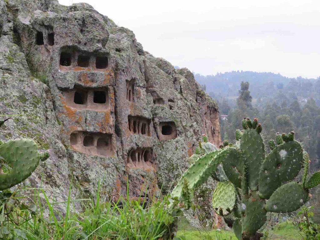 Las Ventanillas del Otuzzco, Cajamarca Peru, Blue sky and wine travel blog