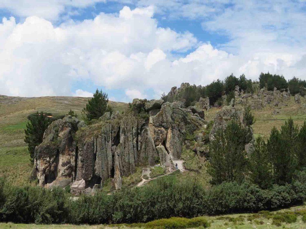 Cumbe Mayo park, Cajamarca Peru, Blue Sky and Wine Travel Blog