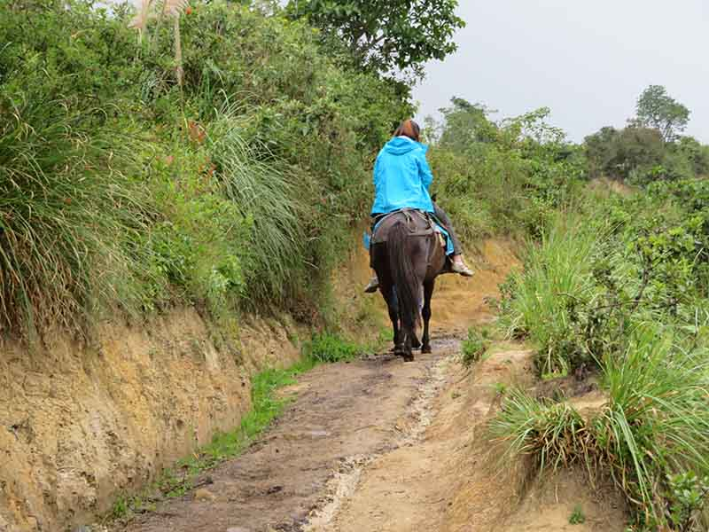 Horse ride from Karajia, Chachapoyas, Blue Sky and Wine Travel Blog