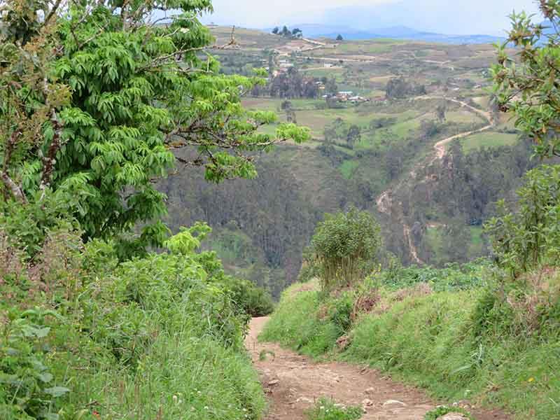 Path to Karajia, Chachapoyas, Blue Sky and Wine Travel Blog