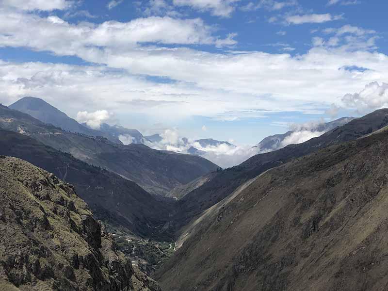 Ecuador alausi secret trek seeing condor mountain, Blue Sky and Wine Travel Blog