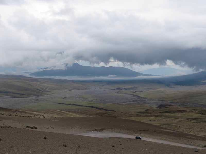 Cotopaxi National Park, Blue Sky and Wine Travel Blog