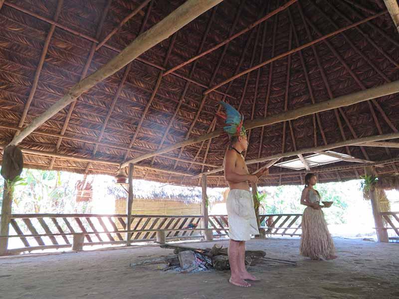 Ecuador puyo amazon jungle tour indigenous community