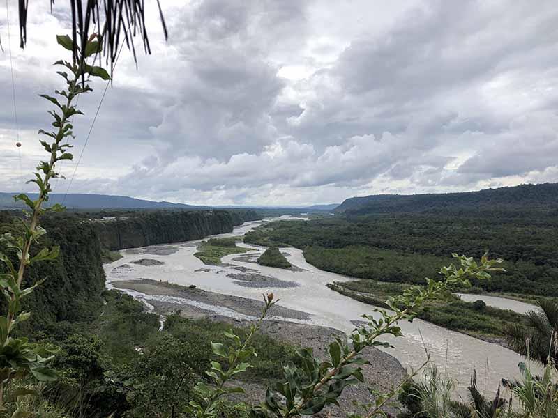 Ecuador puyo amazon jungle tour